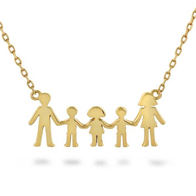 Bilde av Familie smykke, 1 jente og 2