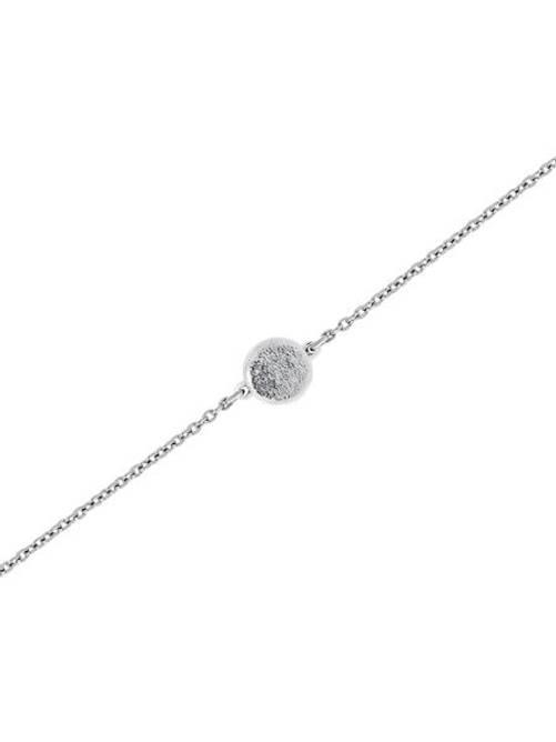 Bilde av Monaco armband, matt sølv